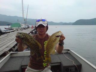 20080628 澤さん 今週も釣れた