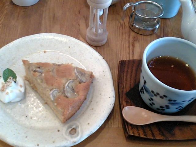 そらみどう(てんさいバナナケーキと琉球紅茶)