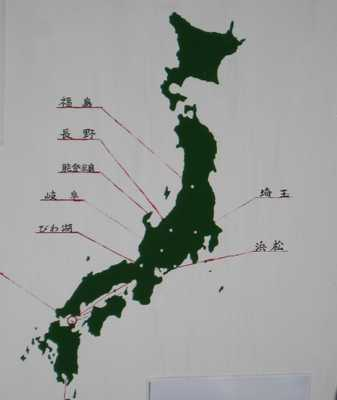 アサギマダラ地図