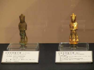 百済系菩薩立像