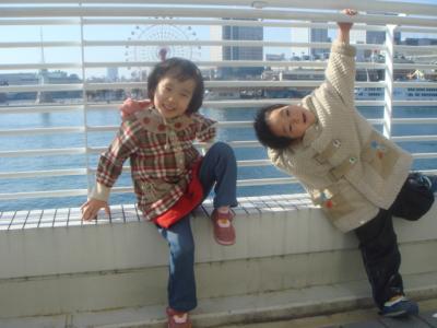 2008.1.6 神戸市消防出初式 ハーバーランドバックに②