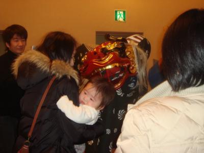 2008.1.6 獅子舞②