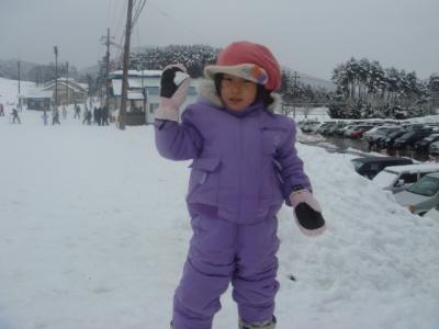 2008.2.3 初めてのスキー
