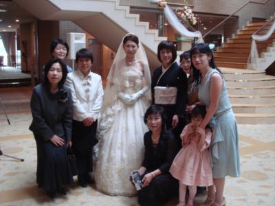 さやちゃん結婚式5