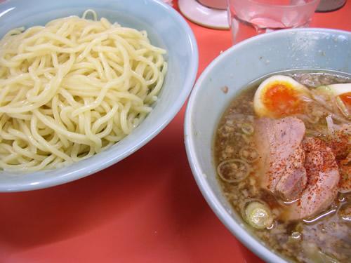いごっそう 新青梅街道 つけ麺 ラーメン 塩 煮卵 スープ割り