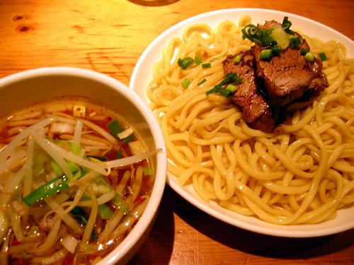中華そば すずらん 渋谷 つけめん つけ麺 味噌つけめん