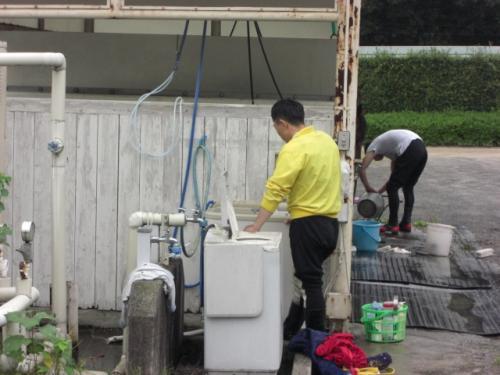 洗濯機の憂鬱・佐藤淳