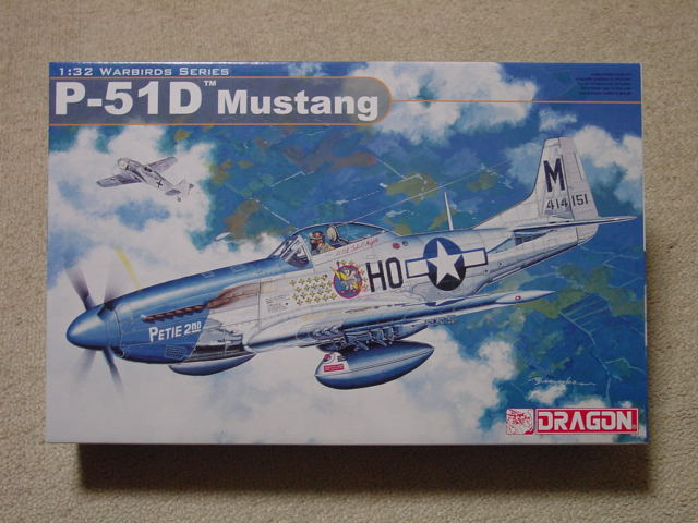 32 ドラゴン P-51D