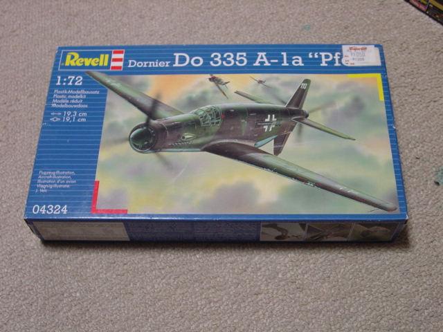 72 Dornier Do 335 A-1a