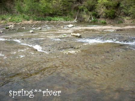 思い出の川☆