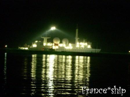 フランス海軍船☆