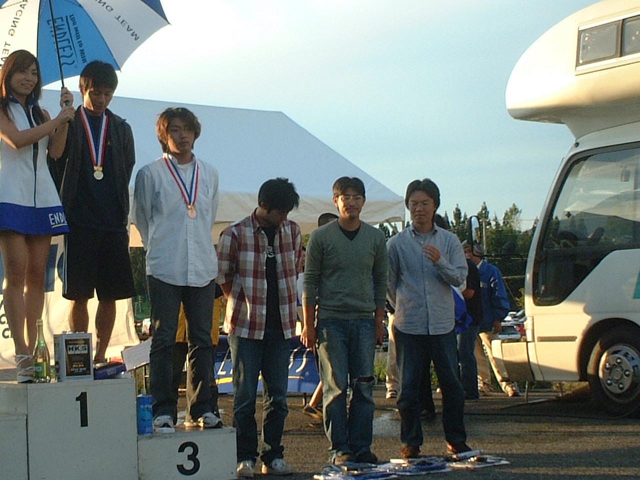 2007 エンドレスカップrd2 表彰