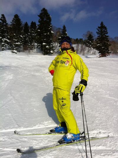 今年のスキー姿