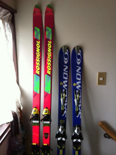 御世話になりましたスキー