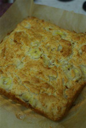 米粉のバナナケーキ