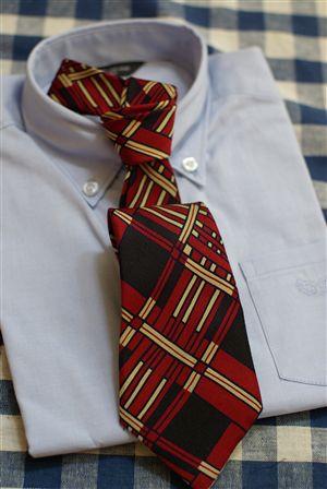 ネクタイのリメイク
