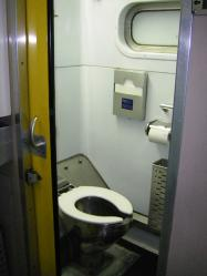A寝台車両様式トイレ