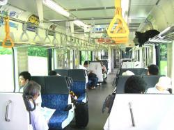 仙山線車内