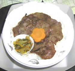 網焼き牛タンん弁当