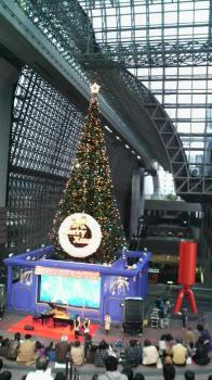 京都駅ビルクリスマスツリー