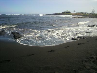 プナルウ黒砂海岸3
