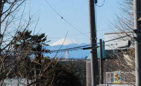 7富士山も見える