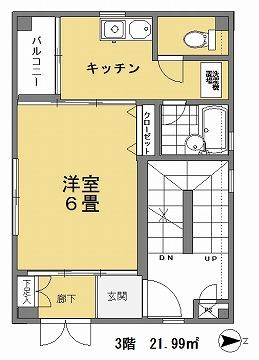 サンポエム3階間取図
