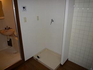 フラッツ善福寺104洗濯機置き場
