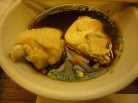 水炊き鶏肉