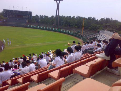 2008年7月石川県立野球場