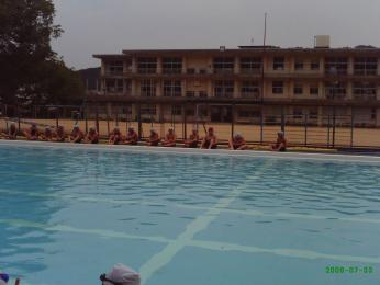 水泳授業の始まり