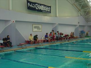 24時間泳1