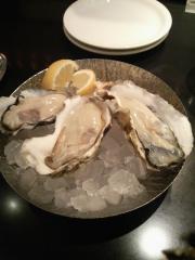 生牡蠣3種食べ比べ盛り合わせ 1000円