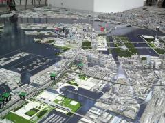 東京オリンピック模型