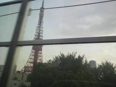 東京タワーそばの首都高