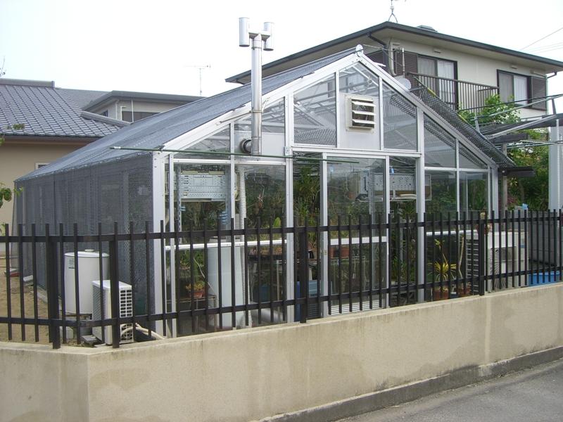 我が家の温室2