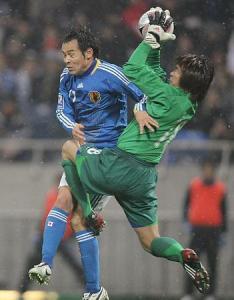 サッカーW杯予選 高原