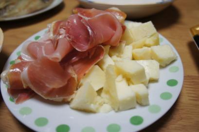 生ハム&チーズ