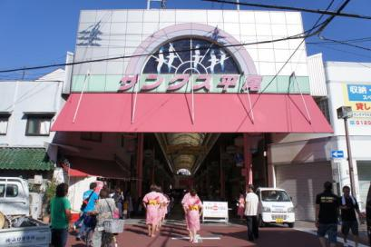 サンクス平尾商店街