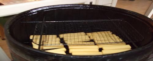 チーズの燻製
