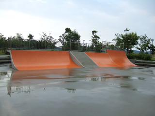 ウチノ海スケートパーク 08-6-29 雨2