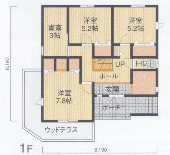 高正工務店 NEXTⅡ550 1Fプラン