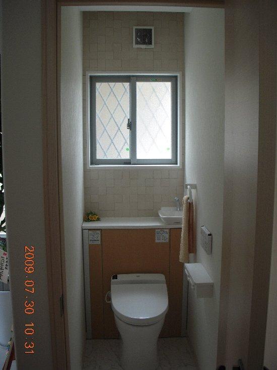 高正工務店 1階トイレ
