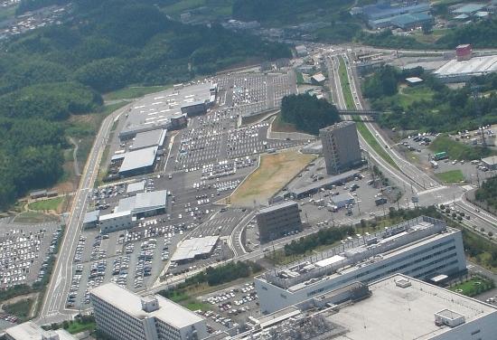 550トリミング多気クリスタルタウンSC 航空写真(H21年8月4日撮影) 036