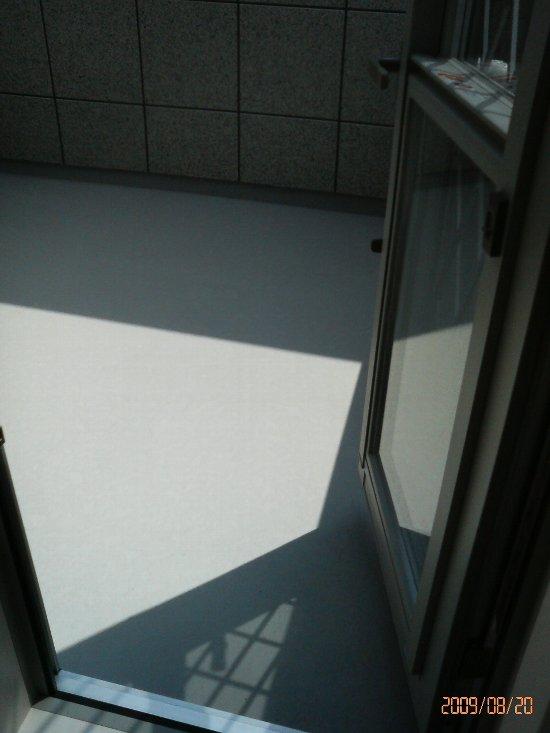 屋上ベランダ入り口(H21年8月20日)