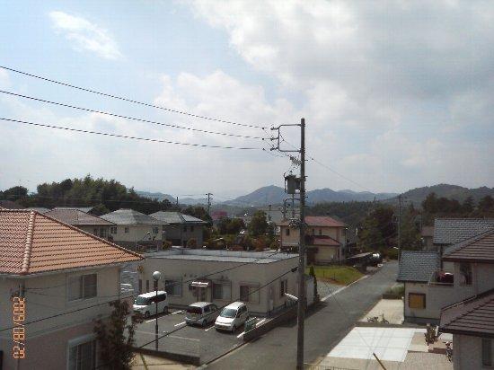 屋上ベランダ景色(H21年8月20日)