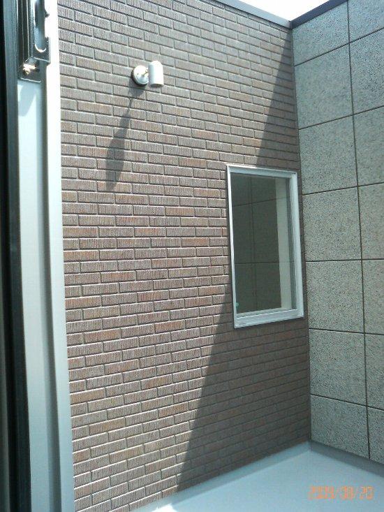屋上ベランダ屋外照明(H21年8月20日)