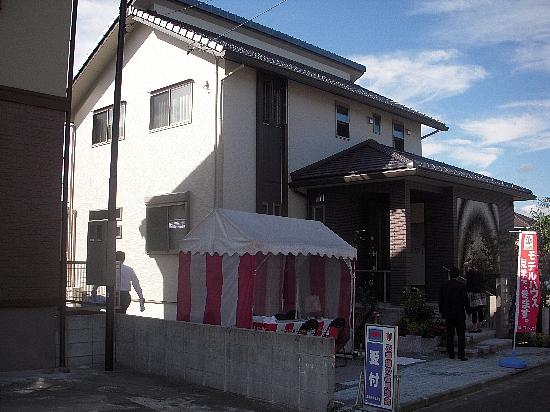 19番6モデルハウス(H21年10月10日撮影) 外観