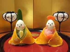 お寿司のおひなさま
