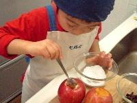 焼きりんご レシピ2